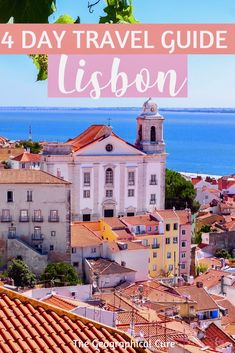 Here's a detail 4 day itinerary for visiting Lisbon Portugal, with tips and tricks for visiting. Lisbon is a gorgeous European hotspot. Tt's seven cinematic. Sintra Portugal, Visit Portugal, Spain And Portugal, Algarve, Portugal Vacation, Portugal Travel Guide, Portugal Trip, Europe Travel Tips, Travel Guides