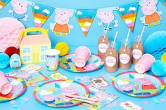 """Find out how to throw a """"paw-some"""" Paw Patrol birthday party with our fab collection of Paw Patrol party ideas. Decorating ideas, party games & more. Bunny Party, Pig Party, Dinosaur Party, Party Party, Sleepover Party, Star Party, Gold Party, Pig Birthday, Birthday Games"""