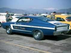 1969 428 Cobra Jet Torino. Ford Drag Team 1969