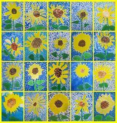 Art lessons Source by monahink Classroom Art Projects, School Art Projects, Art Classroom, Sunflower Crafts, Sunflower Art, Preschool Painting, Preschool Art, Spring Art, Summer Art