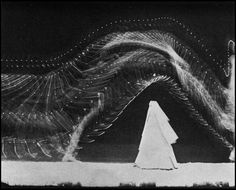 """Étienne-Jules Marey (French, 1830-1904) was a French physiologist known for recording the visualized movements of bodies in motion over time. Marey's focal point of study was movement itself, rather than the traditional subject: the human body. The movements become separate entities abstracted from the """"material body;"""" the lines created from movement become independent from the body. His technology and work developed animated photography into a new field called, chronophotography."""