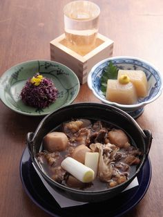 Japanese stewed potatoes 芋煮
