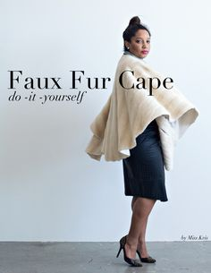 We are all going to be so ready for Fall. This DIY faux fur cape is a MUST. I mean there's really no other way to describe it. Click here to see exactly how I made it. Just think about this over th...