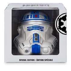 "New Star Wars Legion 6"" R2-D2 Helmet Vinyl Figure Now Available! - Vinylmation World"