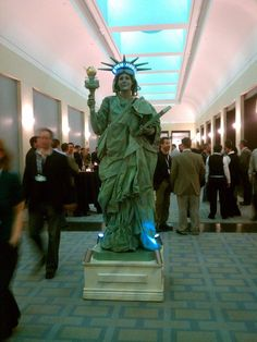 Empire State Building Living Statue Smash Party Entertainment NY