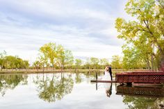 Lake view, bridal portrait. Holly Gannet Photography