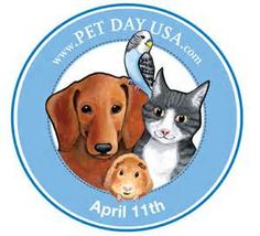 Today is National Pet Day! Don't shop, adopt! National Pet Day was founded to celebrate the joy pets bring to our lives and to create public awareness about the plight of many different kinds of. Today Is National, National Puppy Day, Dogs Online, Loyal Dogs, Raining Cats And Dogs, Puppy Mills, Four Legged, Puppy Love, Dog Cat