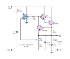 simple white noise generator circuit diagram | Electrical ...