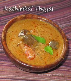 Kathirikai Theyal/Brinjal curry