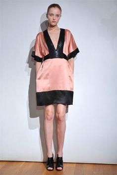 Narciso Rodriguez Resort 2009 Fashion Show - Vlada Roslyakova