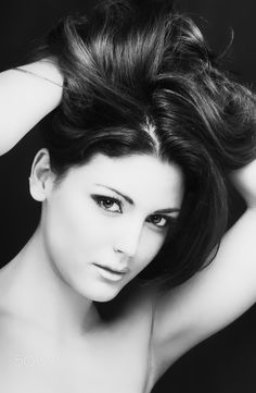 Women's beauty fashion portraits - Fashion model:Irene