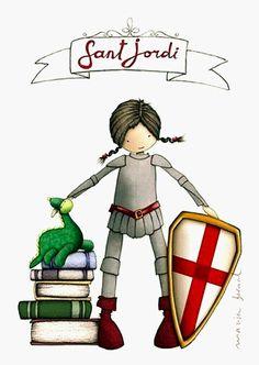 Feliç Diada de Sant Jordi! Feliz Día del Libro! (siempre) #SantJordi pic.twitter.com/xndUibY4k4 vía @OmeuCartafol