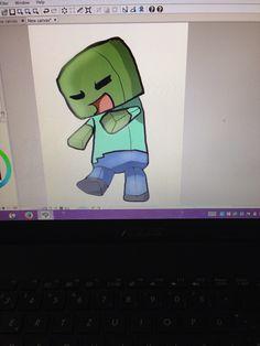 Little Minecraft Zombie