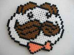 Perler Pringles Guy Logo by Slimer530 on deviantart