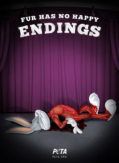 PETA Fur has no happy endings