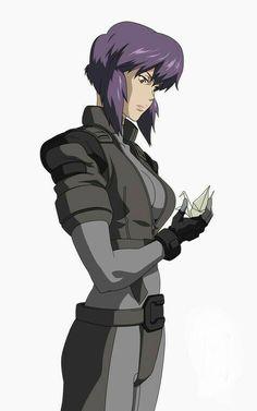 Ghost in the Shell : Stand Alone Complex, Major Motoko Kusanagi / 攻殻機動隊 S.A.C 草薙 素子 少佐 .jpg