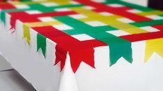 Decoração de São João #1 - Mesa Pronta Party Decoration, Table Decorations, Kalter Winter, Diy And Crafts, Crafts For Kids, Happy June, Mexican Party, Ideas Para Fiestas, Recycling