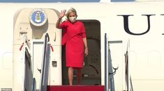 Jill Biden touches down in Japan for the Tokyo Olympics on her first solo international trip as first lady as COVID-19 cases there climb to a six month high Carrie Johnson, Boris Johnson, Tokyo Olympics, Summer Olympics, First Lady Of America, Jill Biden, British Prime Ministers, Six Month, Team Usa