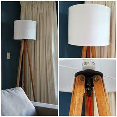 Hello Beautiful: Tripod floor lamp DIY