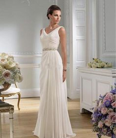 I found some amazing stuff, open it to learn more! Don't wait:http://m.dhgate.com/product/greek-sexy-v-neck-chiffon-wedding-dresses/202935601.html