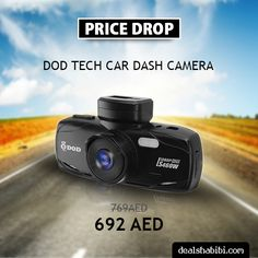 """Your's Best Witness at the Road"" DOD Tech Car Dash Camera. Buy now & Save more @ Dealshabibi.  #dashboard #dashcam  #dodtech #dashcamera #dubai #uae #onlineshopping #shopping #ramadansale #offers ‪‪ Shop Now : https://goo.gl/9O1ulh"