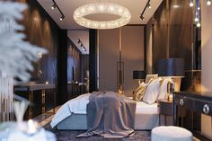 Enhance Your Senses With Luxury Home Decor Luxury Homes Interior, Luxury Home Decor, Interior Design, Small Apartment Interior, Apartment Projects, Luxury Bedroom Design, Home Room Design, Luxurious Bedrooms, Behance