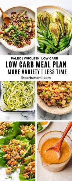 Whole30 meal plan, Low carb meal plan, and Paleo meal plan for foodies who love flavorful food without spending hours in the kitchen. Free download! #mealplan #whole30recipes #lowcarb #paleomealplan #lowcarbmealplan Paleo Recipes Easy, Whole 30 Recipes, Asian Recipes, Low Carb Recipes, Beef Recipes, Entree Recipes, Paleo Meal Prep, Low Carb Meal Plan, Paleo Meals