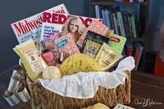 Diy girls night gift basket