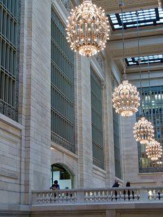 Grand Central Station Balcony New York City *** By jackie weisberg