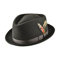 Silko Wool Felt Trilby Fedora Hat Mens Dress Hats db6673384c1