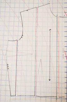 Great tutorial for pattern grading - by Casey at Elegant Musings blog