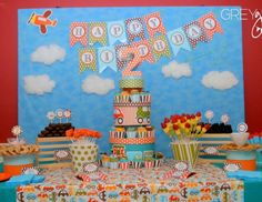 """Birthday """"Planes, Trains, and Automobiles Party"""" 