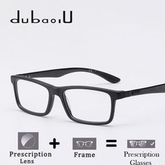 dd9b4c802d9 Acetate Prescription Glasses Men Vintage Retro Rectangle Optical Myopia  Computer Transparent Prescription Glasses For Men