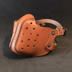 Leather Mask, Leather Pouch, Biker Mask, Steampunk Mask, Thick Thread, Hole Puncher, Cool Masks, Easy Diy Gifts, Leather Projects