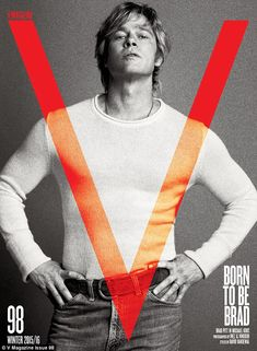 'She's sexy at her post' Brad Pitt spoke with V Magazine of working with wife Angelina Jol...