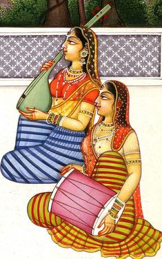 Radha and Krishna Playing the Game of Chaupara, Hindu Water Color Painting on PaperArtist:Kailash Raj Pichwai Paintings, Mughal Paintings, Indian Art Paintings, Ancient Indian Paintings, Rajasthani Painting, Rajasthani Art, Madhubani Art, Madhubani Painting, Indian Traditional Paintings
