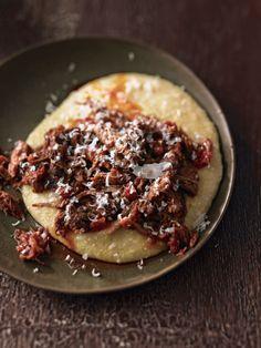 Pork Rib Ragu with Polenta | http://blog.williams-sonoma.com/pork-rib-ragu-with-polenta/?utm_source=feedburner&utm_medium=feed&utm_campaign=Feed%3A+theblender-williams-sonoma+%28The+Blender%29