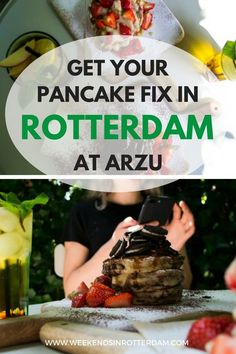 One of the new members of the Weekends in Rotterda… Europe Travel Tips, European Travel, Travel Destinations, Rotterdam, Tasty Pancakes, Good Foods To Eat, Best Places To Eat, International Recipes, Traveling By Yourself