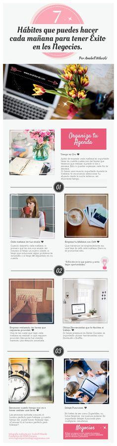 7 Hábitos que puedes hacer cada mañana para tener Éxito en los negocios. #negocios #emprendedores