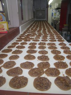 Aunt Sallys Pralines, New Orleans, Louisiana....my brother could eat his weight in these.  they are unbelievable.