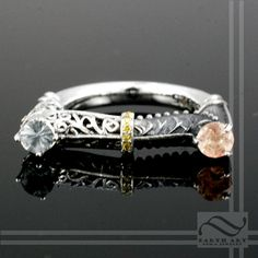 Two Towers Ring - Sterling Silver