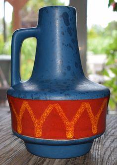 ES design Keramik Vase WGP Artpottery 60s 70s Midcentury Vintage German art