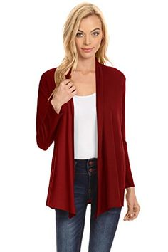 73423082309 online shopping for Simlu Womens Open Drape Cardigan Reg Plus Size Cardigan  Sweater Long Sleeves - USA from top store. See new offer for Simlu Womens  Open ...