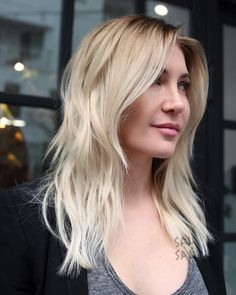 """451 Likes, 10 Comments - Cherin Choi (@mizzchoi) on Instagram: """"Before and after. Blonde color correction. Full tips and a root to blend in her natural. We book…"""""""