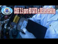Manutenção de Computador - Aula 28 - CASE 3.5 para HD SATA e IDE de Desktop