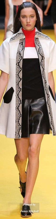 Carven Collection Spring 2015 Ready-to-Wear
