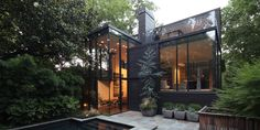 Ansley glass House in Atlanta by bldgs: the office of architects brian bell and david yocum