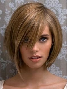 Hair! I love this cut without the front long piece. It would drive me nuts being…
