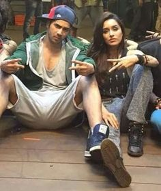 "Shraddha kapoor in her movie - ""ABCD-2"" with varun dhawan"