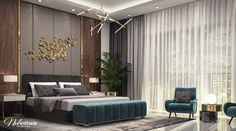 Modern Bedroom on Behance Modern Luxury Bedroom, Master Bedroom Interior, Bedroom Closet Design, Bedroom Furniture Design, Girl Bedroom Designs, Modern Bedroom Design, Luxurious Bedrooms, Bedroom Decor, New Interior Design
